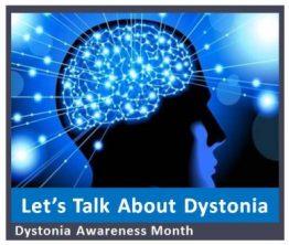 dystonia awareness slide i