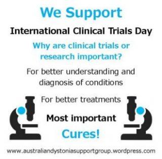 International Clinical Trials Day Dystonia