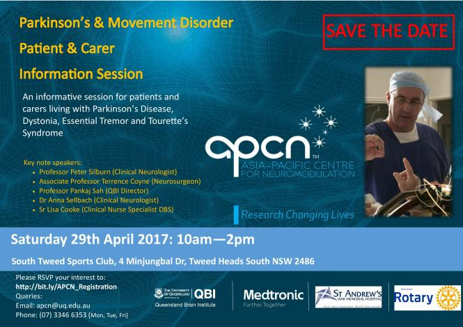 Parkinson's and Movement Disorder Info session