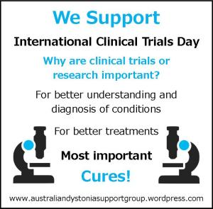 International Clinical Trials Day Dystonia