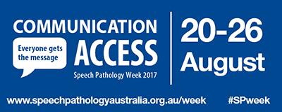 Speech Pathology Week 2017