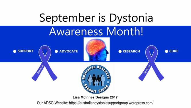 Dystonia Awareness Month