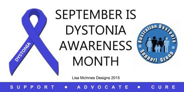 Dystonia Awareness Month Australia cover image