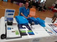Dystonia Awareness Market Stall