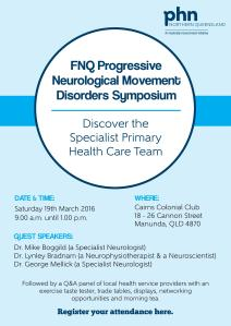 FNQ Progressive Neurological Movement Disorders Symposium