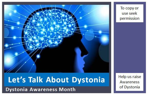 Dystonia Awareness Month Slide