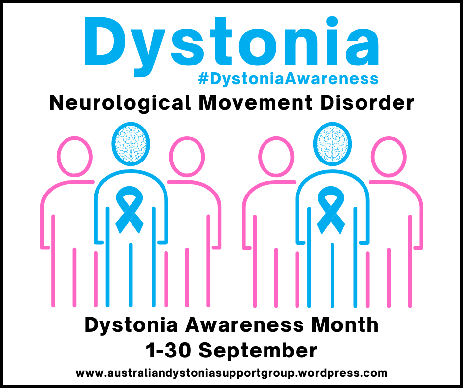 Dystonia Awareness Month 2021 Facebook Post PNG